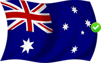 Australia Friendly Flag