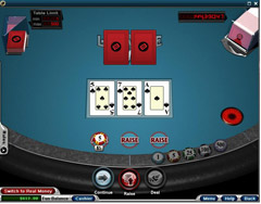 Let It Ride Poker Game Example