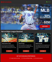 Bovada MLB Baseball Promotion