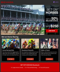 Bovada Racebook - #1 Horse Betting Site For US Players