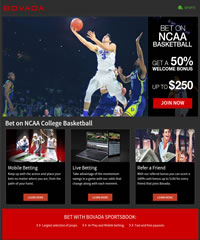 Bovada Basketball Betting Promotion