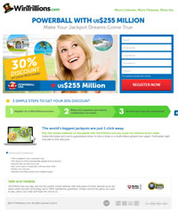 WinTrillions 30% Lottery Promotion