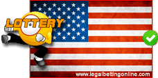 USA Friendly Lottery Flag