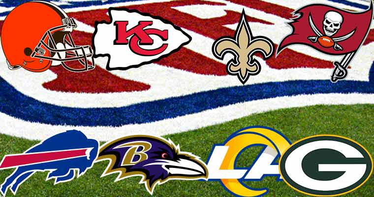 2021 NFL Playoff Teams Divisional Round