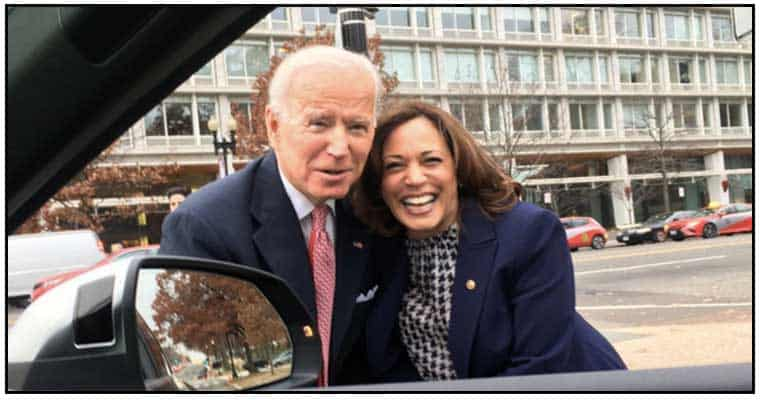 Biden and Harris share a picture