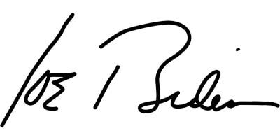 Biden Signature