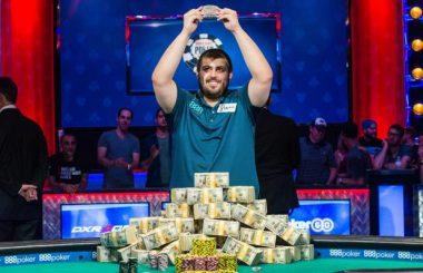 Blumstein wins 2017 WSOP main event