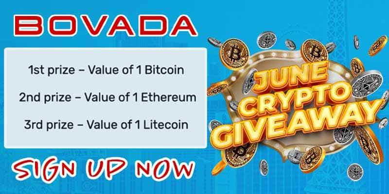 Bovada Crypto Special