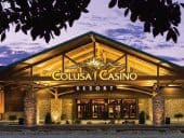 The entrance to the Calusa Casino in California