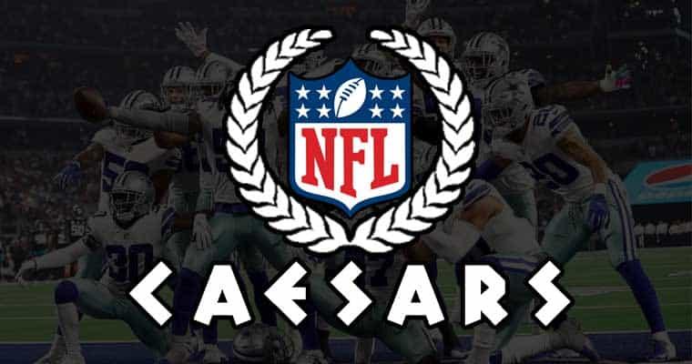 NFL Caesars logo