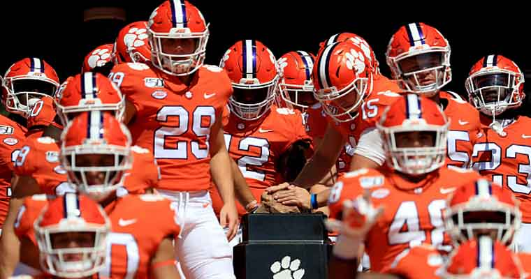 Clemson tigers fall in poll national championship favorite