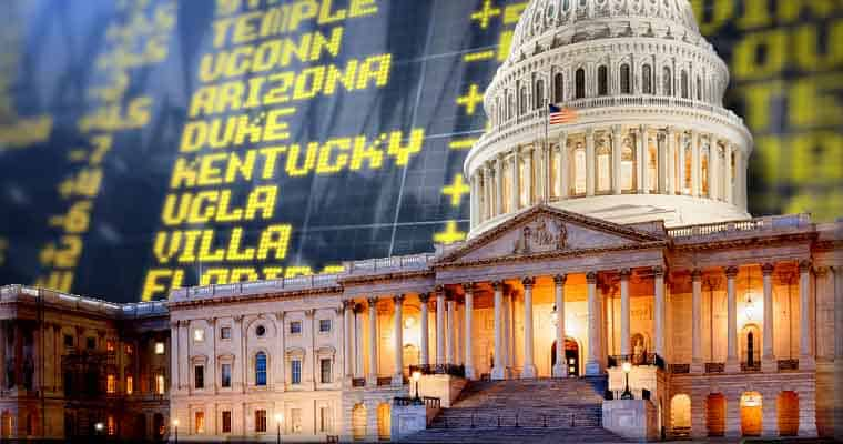 The nations capital in front of betting lines