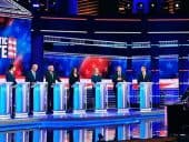 Non-facts and protests: Houston gears up and gets props for third Democratic debate