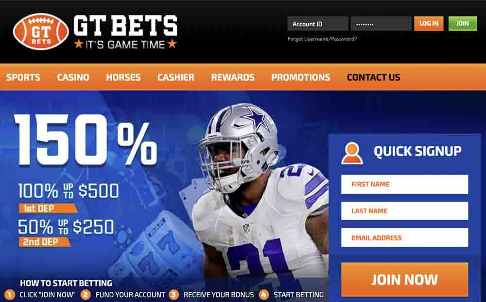 GTBets Cover Page