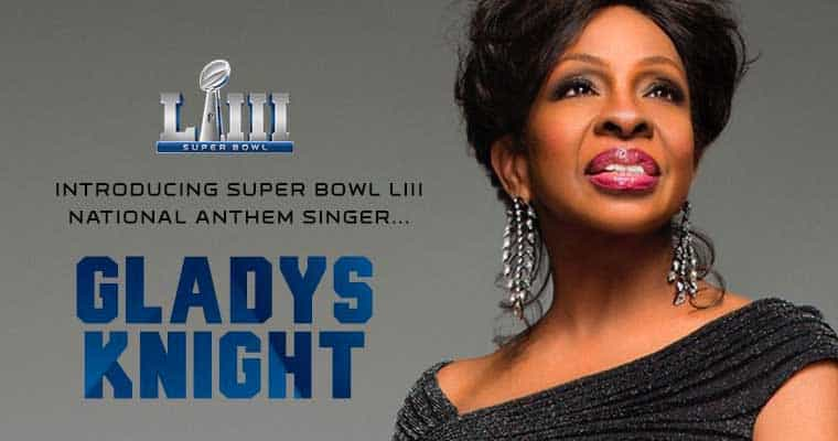 Gladys Knight Super Bowl -53 promo