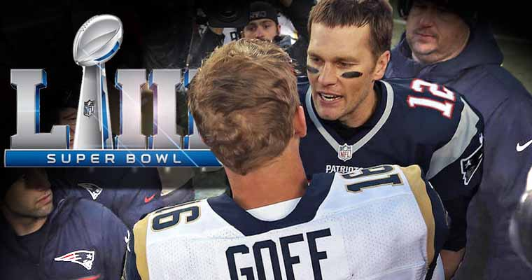 Brady and Goff get ready for Super Bowl 53