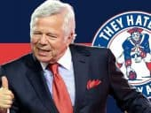 Robert Kraft thumbs up