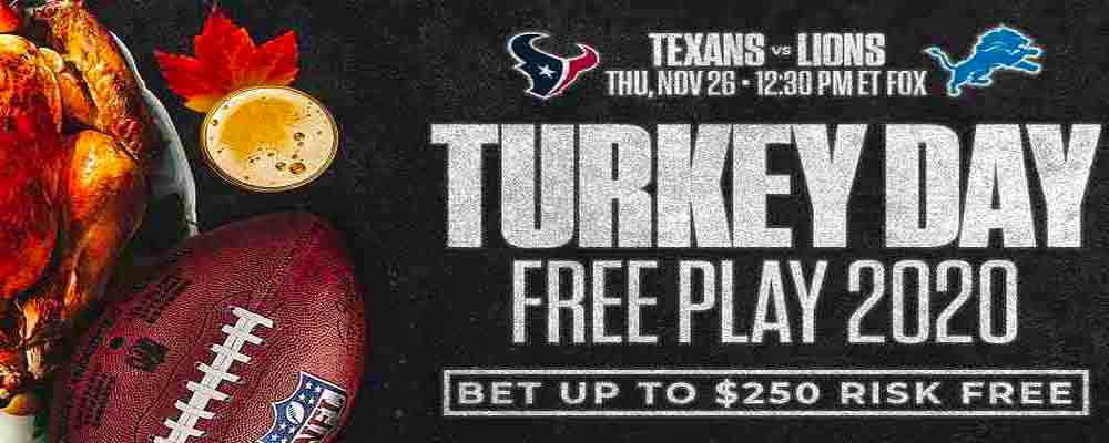 MyBookie Thanksgiving Promo
