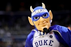 College Basketball Duke Mascot