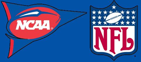 NCAA & NFL Logos