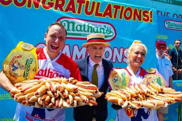Nathan Hotdog contest winners