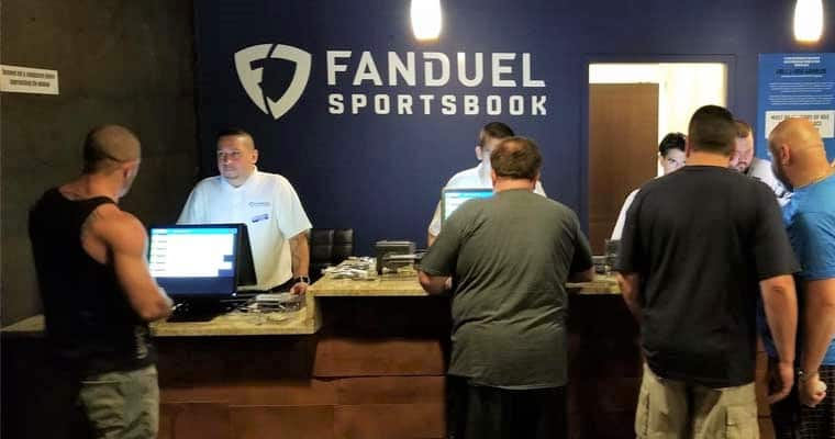 New Jersey FanDuel Sportsbook Counter