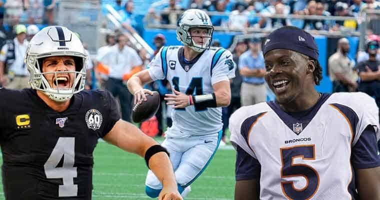 Las Vegas NFL odds for Carolina Broncos 2021