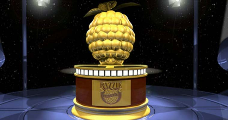 Razzie award background