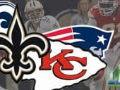 Odds Favor Saints, Chiefs to Meet in Super Bowl 53