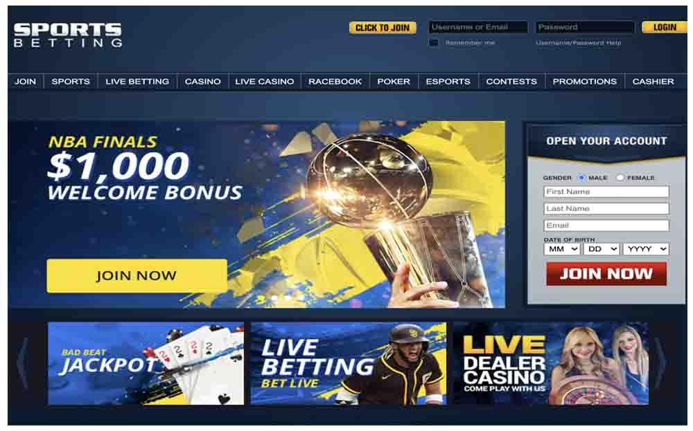 Sports Betting AG screenshot