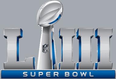 Super Bowl 53 logo