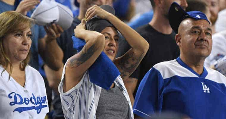 Dodger fans looking for a rally