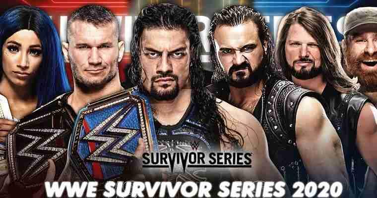 2020 WWE Survivor Series Promo