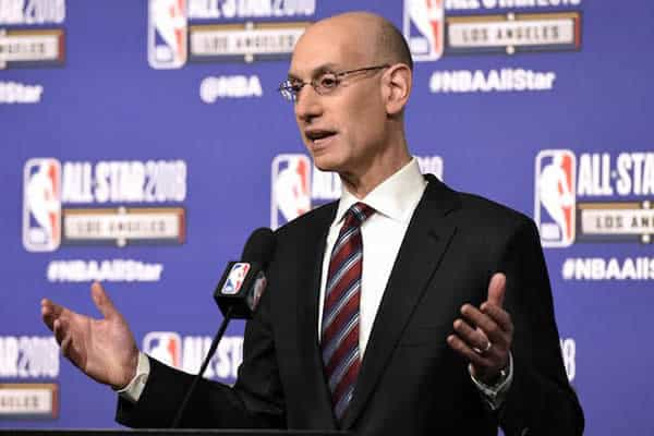 Adam Silver NBA Commissioner