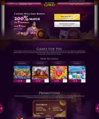 Aladdins Gold Casino Screenshot