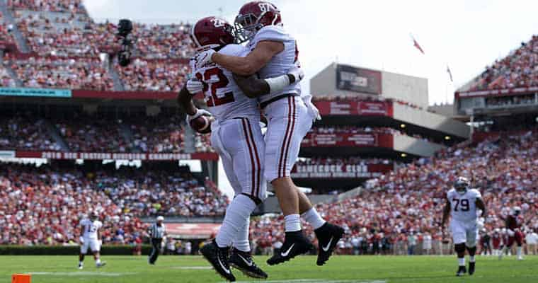 alabama crimson tide college football championship favorites