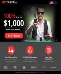 Betonline Poker Screenshot