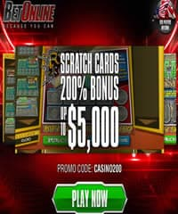 Betonline Scratch Card Promotion