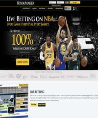 Bookmaker sportsbook screen shot