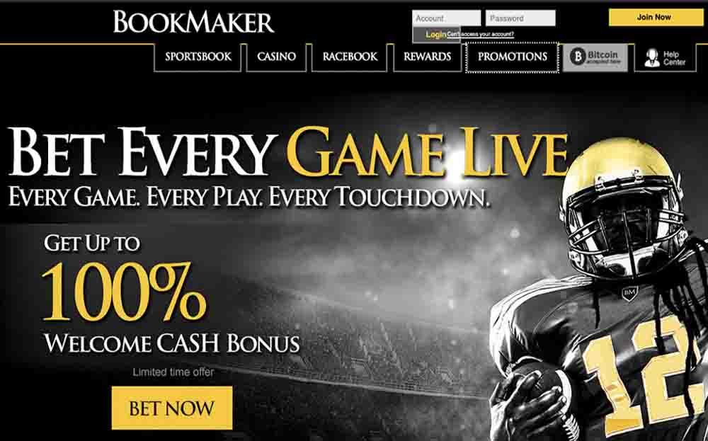 Bookmaker Screen Shot