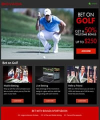 Bovada Golf Promotion