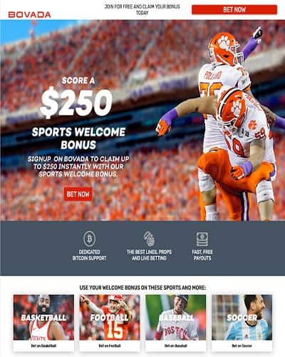 Bovada NCAAF College Football Promotion
