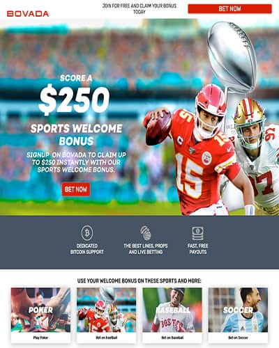 Bovada Sports Football Promotion