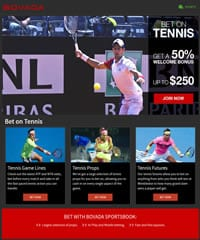 Bovada Sportsbook Tennis Promotion