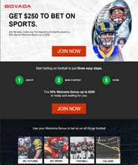 Bovada Superbowl Betting Page