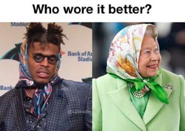 Cam and queen meme