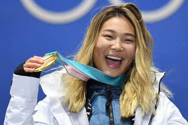 Chloe Kim USA gold medalist