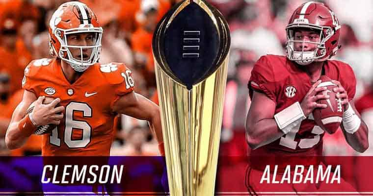 Clemson and Alabama prepare to face off