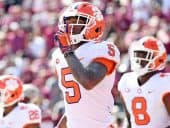 Clemson drops in AP Poll but becomes college football championship favorite