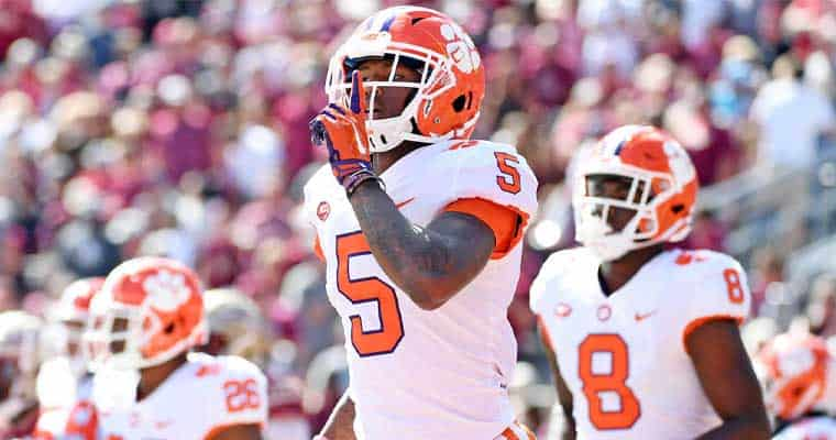 clemson-tiger college football championship favorites